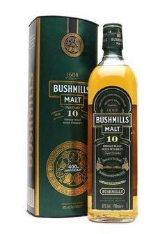 виски Bushmills 10 Y.O.-0,7 л в Duty Free купить с доставкой в Санкт-Петербурге