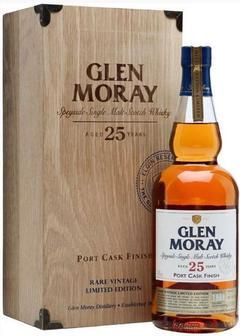 виски Glen Moray 25 Y.O. Port Cask Finish Rare Vintage Limited Edition в Duty Free купить с доставкой в Санкт-Петербурге