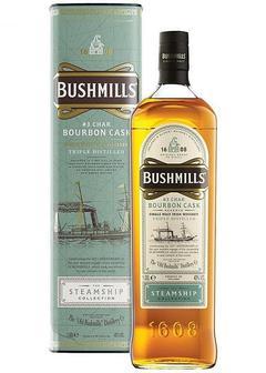виски Bushmills Steamship Bourbon Cask в Duty Free купить с доставкой в Санкт-Петербурге