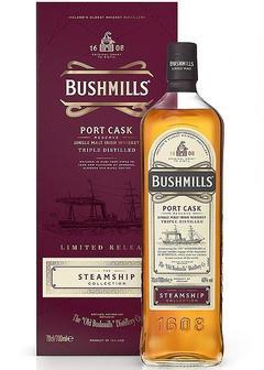 виски Bushmills Steamship Port Cask в Duty Free купить с доставкой в Санкт-Петербурге