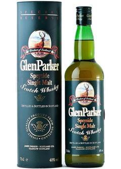 виски Glen Parker Special Reserve в Duty Free купить с доставкой в Санкт-Петербурге
