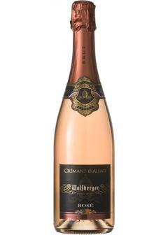 игристое вино Wolfberger, Cremant d'Alsace Rose Brut, in gift box в Duty Free купить с доставкой в Санкт-Петербурге