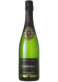 игристое вино Wolfberger, Cremant d'Alsace Chardonnay Brut, in gift box в Duty Free купить с доставкой в Санкт-Петербурге