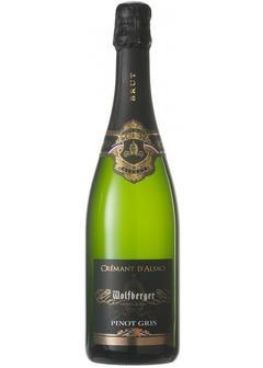 игристое вино Wolfberger, Cremant d'Alsace Pinot Gris Brut в Duty Free купить с доставкой в Санкт-Петербурге