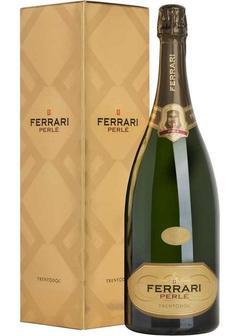 игристое вино Ferrari Brut Perle, in gift box 1,5л в Duty Free купить с доставкой в Санкт-Петербурге