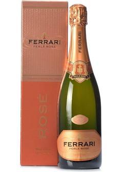 игристое вино Ferrari Brut Perle Rose, in gift box в Duty Free купить с доставкой в Санкт-Петербурге