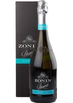 игристое вино Zonin, Prosecco Brut, in gift box в Duty Free купить с доставкой в Санкт-Петербурге