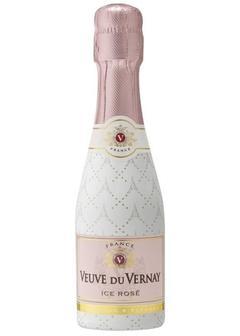 игристое вино Veuve du Vernay Ice Rose, 200мл в Duty Free купить с доставкой в Санкт-Петербурге