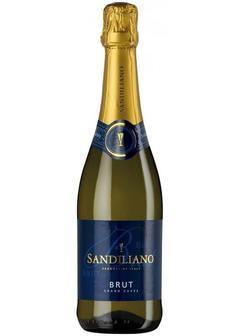 игристое вино Sandiliano Grande Cuvee Brut в Duty Free купить с доставкой в Санкт-Петербурге