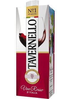 вино Tavernello Rosso, Tetra Pak 1,0л в Duty Free купить с доставкой в Санкт-Петербурге