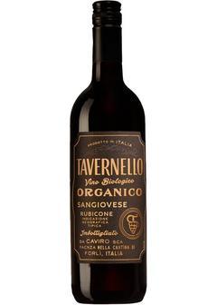 вино Tavernello Sangiovese Organico, Rubicone, 2017 в Duty Free купить с доставкой в Санкт-Петербурге