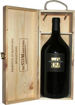 вино San Marzano, Sessantanni Old Vines 2015, 3,0л в Duty Free купить с доставкой в Санкт-Петербурге