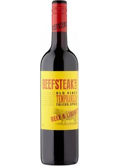 вино Beefsteak Club Beef & Liberty Tempranillo, 2017 в Duty Free купить с доставкой в Санкт-Петербурге