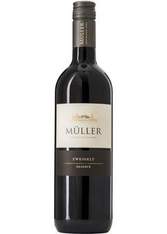 вино Muller, Zweigelt Reserve, 2016 в Duty Free купить с доставкой в Санкт-Петербурге