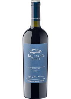вино Vysokij Bereg Merlot в Duty Free купить с доставкой в Санкт-Петербурге