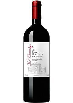 вино Maison Bouey, Le Cardo Maximus Rouge, Bordeaux, 2017 в Duty Free купить с доставкой в Санкт-Петербурге