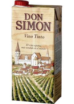 вино Don Simon, Rosso Seco, Tetra Pak, 1л в Duty Free купить с доставкой в Санкт-Петербурге