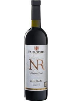 вино Fanagoria, NR Merlot в Duty Free купить с доставкой в Санкт-Петербурге