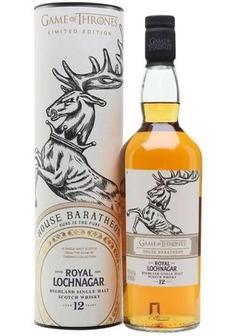 виски Royal Lochnagar 12 Y.O Game of Thrones House Baratheon купить с доставкой в Санкт-Петербурге