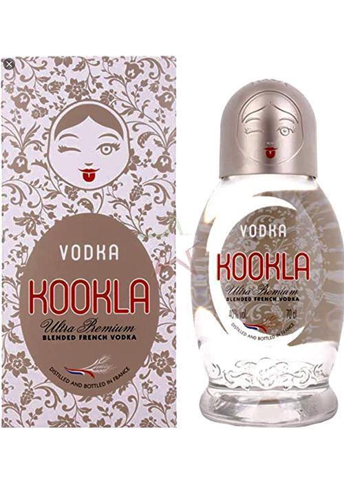 Kookla Premium Vodka / Кукла Премиум Водка купить с доставкой в Санкт-Петербурге