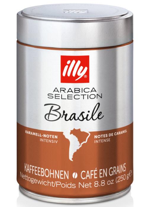 Кофе illy Brasile Arabica Selection (Илли Бразилия Арабика Селекшн) купить с доставкой в Санкт-Петербурге