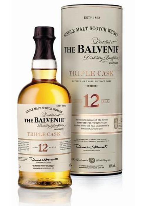 виски Balvenie Triple Cask 12 Y.O. в Duty Free купить с доставкой в Санкт-Петербурге
