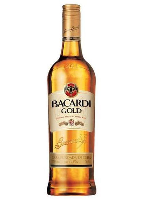 ром Bacardi Gold Rum в Duty Free купить с доставкой в Санкт-Петербурге