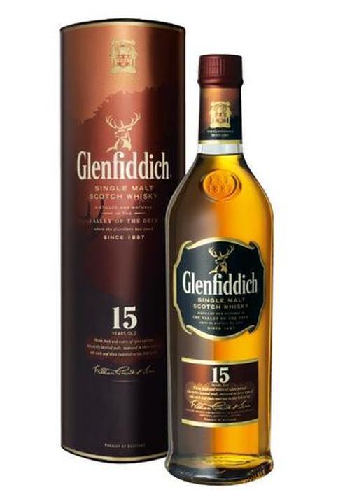 виски Glenfiddich 15 Y.O. в Duty Free купить с доставкой в Санкт-Петербурге
