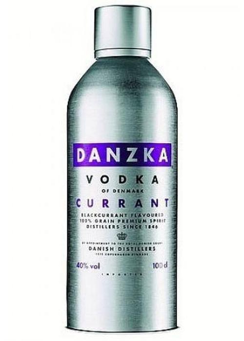 водка Danzka Currant в Duty Free купить с доставкой в Санкт-Петербурге