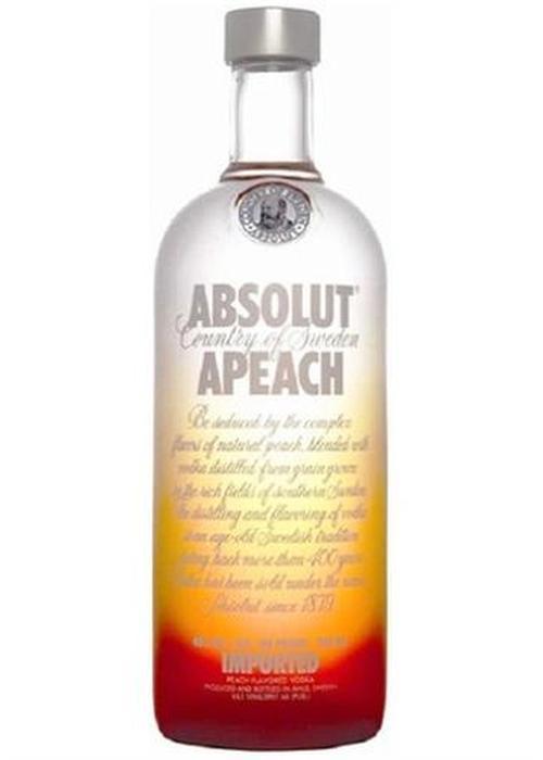 водка Absolut Apeach в Duty Free купить с доставкой в Санкт-Петербурге