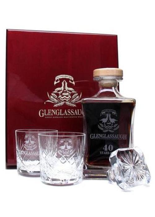 виски Glenglassaugh 40 Y.O. в Duty Free купить с доставкой в Санкт-Петербурге