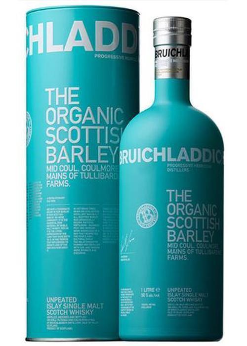 виски Bruichladdich The Organic Scottish Barley в Duty Free купить с доставкой в Санкт-Петербурге