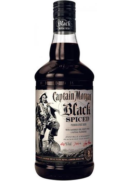 ром Captain Morgan Black Spiced в Duty Free купить с доставкой в Санкт-Петербурге