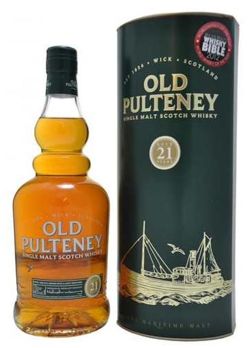 виски Old Pulteney 21 Y.O. в Duty Free купить с доставкой в Санкт-Петербурге