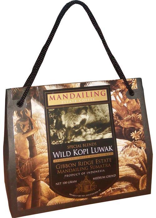 элитные продукты Wild Kopi Luwak Medium Grind в Duty Free купить с доставкой в Санкт-Петербурге