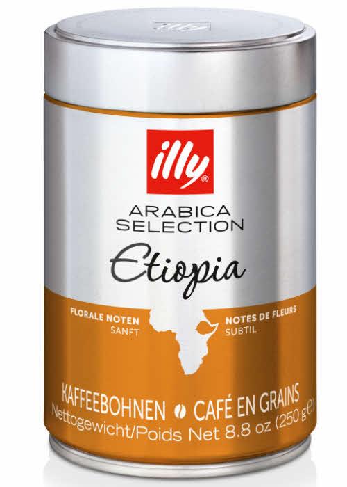 Кофе illy Ethiopia Arabica Selection (Илли Эфиопия Арабика Селекшн) купить с доставкой в Санкт-Петербурге