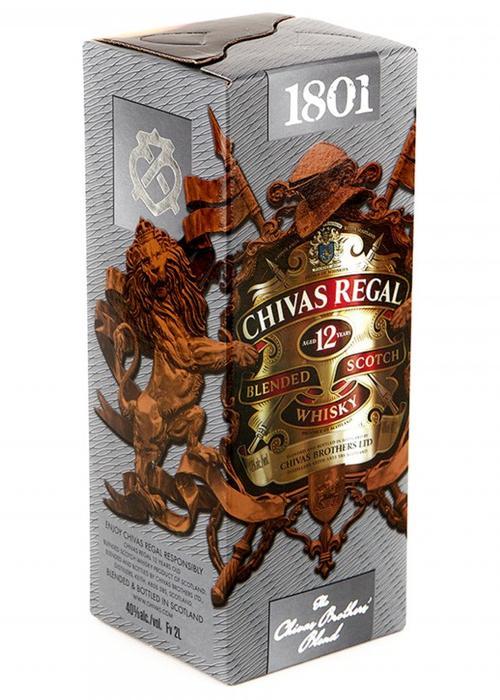 виски Chivas Regal 12 Y.O. 2 литра Тетра Пак в Duty Free купить с доставкой в Санкт-Петербурге