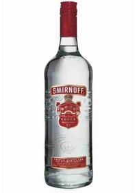 """Smirnoff """"Red"""" Vodka"""