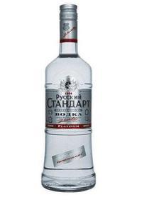"Russian Standard ""Platinum"" Vodka"