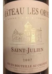 Saint Julien Chateau Les Ormes