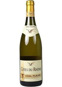 Vidal-Fleury, Cotes du Rhone Blanc 2017