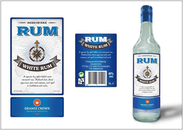 Купить Orange Crown White Rum Orange Crown в СПб